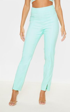 Aqua Straight Leg Suit Trouser | Trousers | PrettyLittleThing