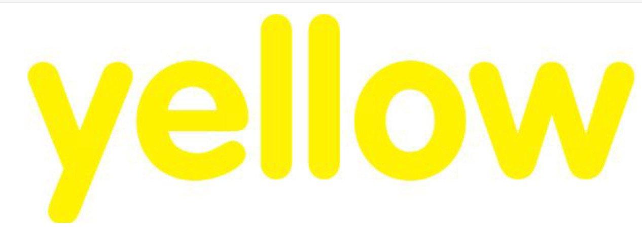 yellow word
