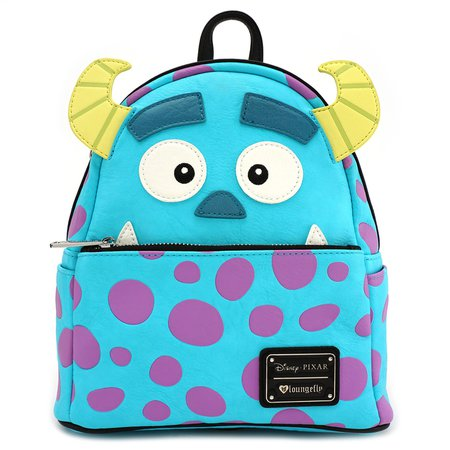 Loungefly x Monsters Inc. Sully Mini Faux Leather Backpack