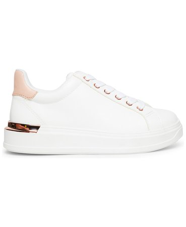 Steve Madden Women's Jaxie Flatform Lace-Up Sneakers & Reviews - Athletic Shoes & Sneakers - Shoes - Macy's