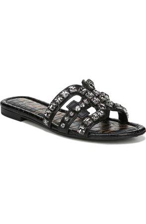 Sam Edelman Bay 2 Embellished Slide Sandal (Women)   Nordstrom