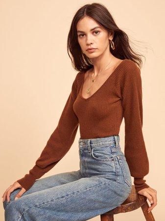 Hart Cashmere Sweater - Reformation