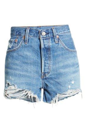Levi's® 501® Original Cutoff Shorts (Athens Mid Short) | Nordstrom