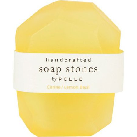 lemon soap stones pelle