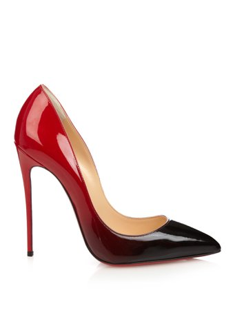 Black & Red Ombre Christian Louboutin