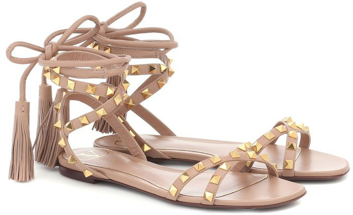 Rockstud Flair leather sandals