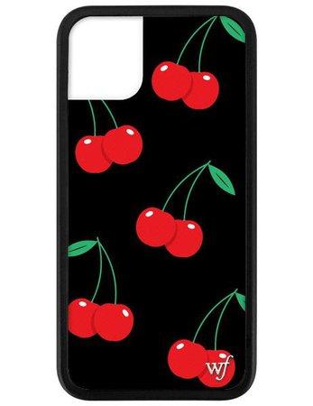 Black Cherry iPhone 11 Case – Wildflower Cases
