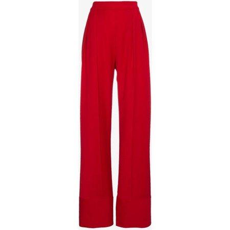 Michael Lo Sordo High Waist Wide Leg Trousers ($561)