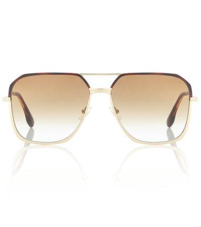 Victoria Beckham - Aviator sunglasses | Mytheresa