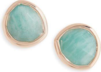Monica Vinader Siren Semiprecious Stone Stud Earrings (Nordstrom Exclusive) | Nordstrom