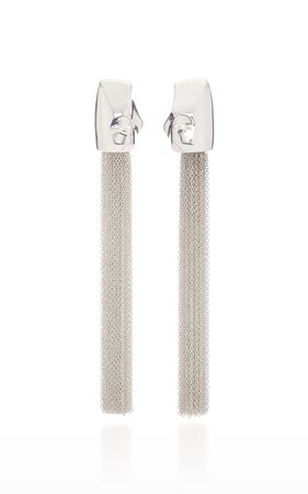 Cecilia Sterling-Silver Beaded Earrings by AGMES | Moda Operandi