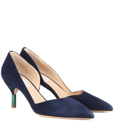 Luza suede pumps