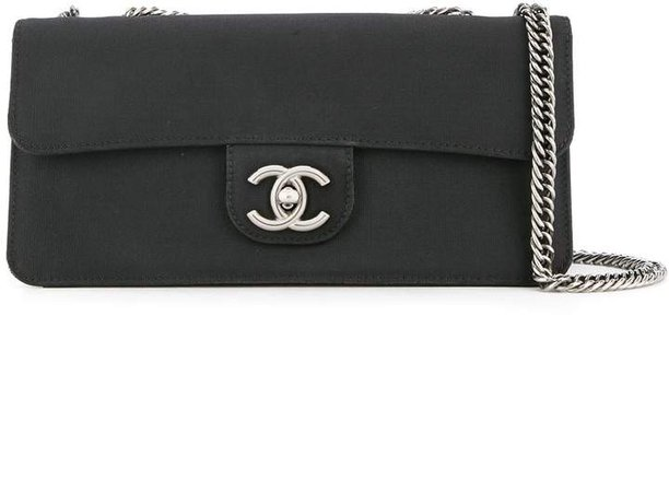 Chanel Pre Owned 2008-2009 CC logo chain shoulder bag