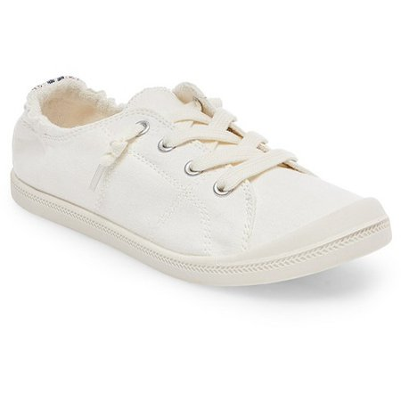 Women's Mad Love® Lennie Sneakers - White 8 : Target