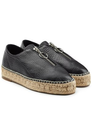 Leather Espadrilles Gr. IT 39