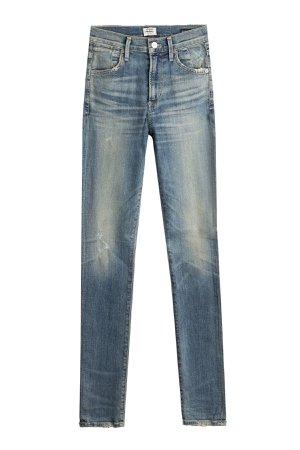 Slim Straight Leg Jeans Gr. 27