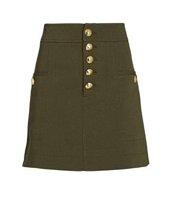 INTERMIX Private Label Palmer Mini Skirt | INTERMIX®