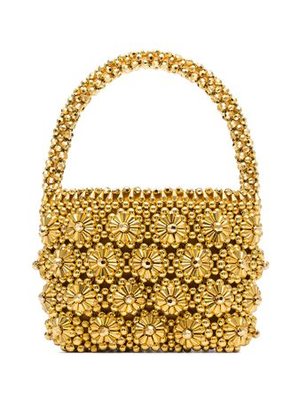 Shrimps Shelly Beaded Tote Bag - Farfetch