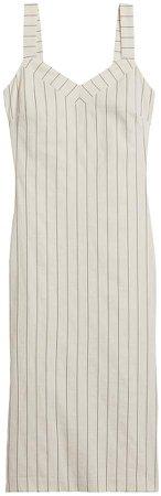 Stripe Strappy Sheath Dress