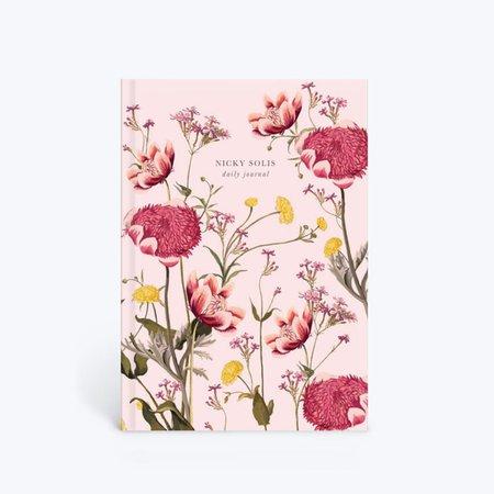 Pink Botanical | Notebook | Papier