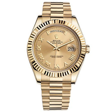 Rolex Day-Date President Yellow Gold Watch