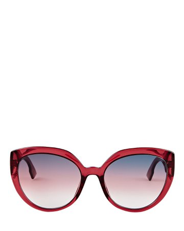 Dior DDiorF Cat Eye Sunglasses | INTERMIX®