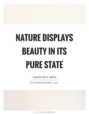 Beauty of Nature Quote