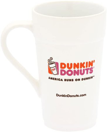 Amazon.com: Dunkin Donuts 2013 Classic Mug White 16 oz.: Kitchen & Dining