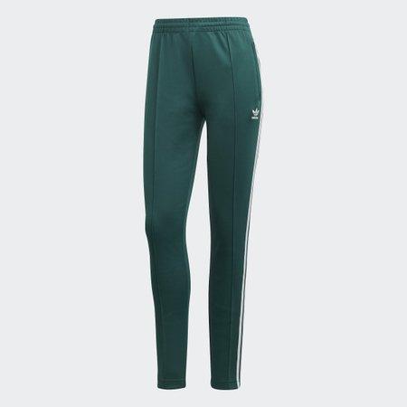 adidas SST Track Pants - Green | adidas US