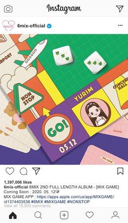 6mix Instagram