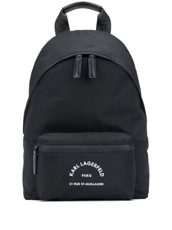 Karl Lagerfeld Rue St Guillaume Medium Backpack