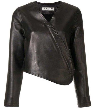AALTO | Asymmetric Fitted Jacket $578 | FarFetch