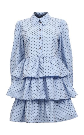 Baum und Pferdgarten Anya Tiered Ruffle Mini Dress