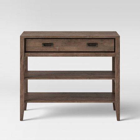 Millbury Rustic Wood Console Table - Threshold™ : Target