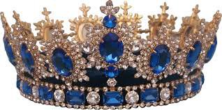 blue and gold crown - Google Search