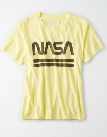 AE NASA Graphic T-Shirt yellow