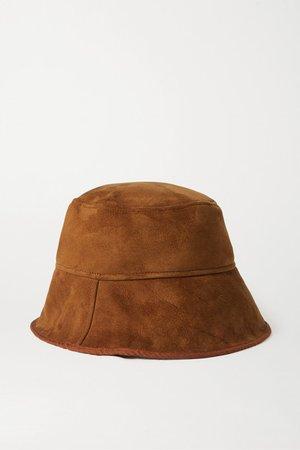 CLYDE | Shearling bucket hat | NET-A-PORTER.COM