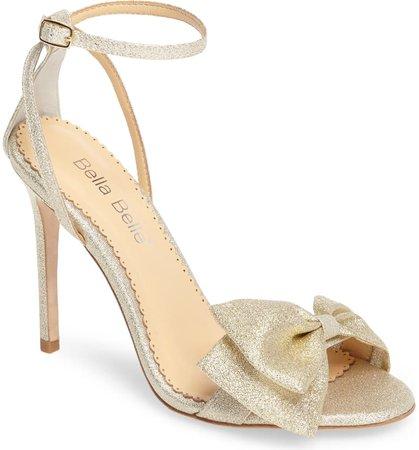 Bella Belle Aubrey Bow Ankle Strap Sandal (Women) | Nordstrom