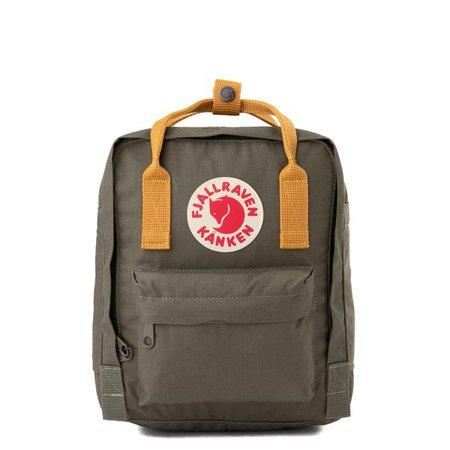 Fjallraven Kanken Mini Backpack - Olive / Ochre | Journeys