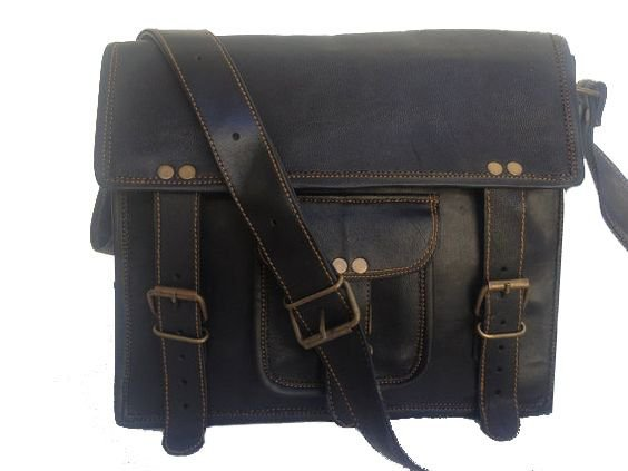 black satchel crossbody purse