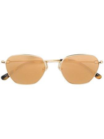 Linda Farrow x Alessandra Rich | round sunglasses