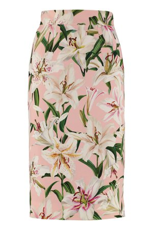 Dolce & Gabbana Cady Pencil Skirt