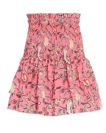 Charina Sarte Regina Batik Mini Skirt | INTERMIX®