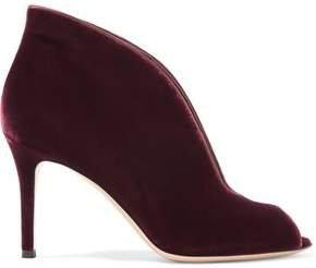 Vamp 85 Velvet Ankle Boots