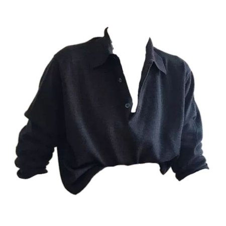 black top shirt png