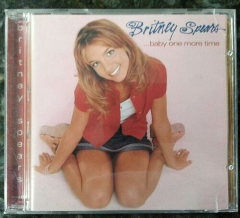 Britney Spears - ...Baby One More Time CD 1999 Jive 01241-41651-2 | eBay