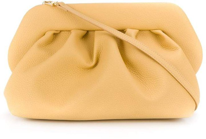 Themoirè Snap Closure Shoulder Bag