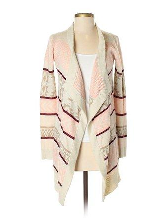 Arizona Jean Company Color Block Ivory Cardigan Size XS - 78% off | thredUP