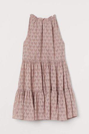 A-line Dress - Brown