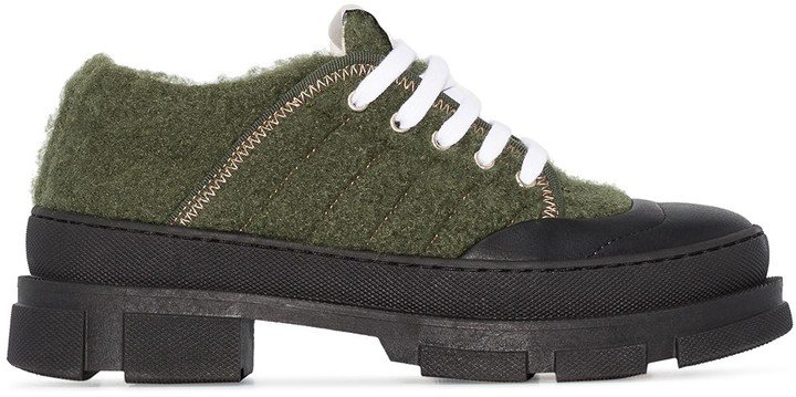 Chunky Low-Top Sneakers